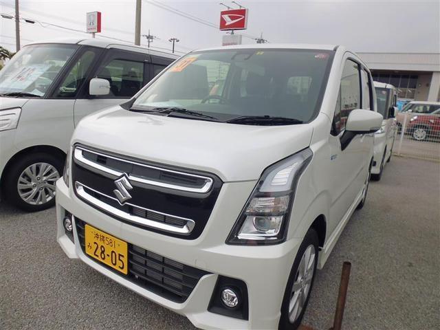 沖縄県豊見城市の中古車ならワゴンRスティングレー ハイブリッドX