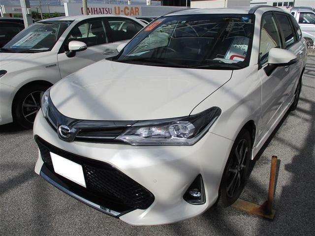 沖縄県豊見城市の中古車ならカローラフィールダー G ダブルバイビー