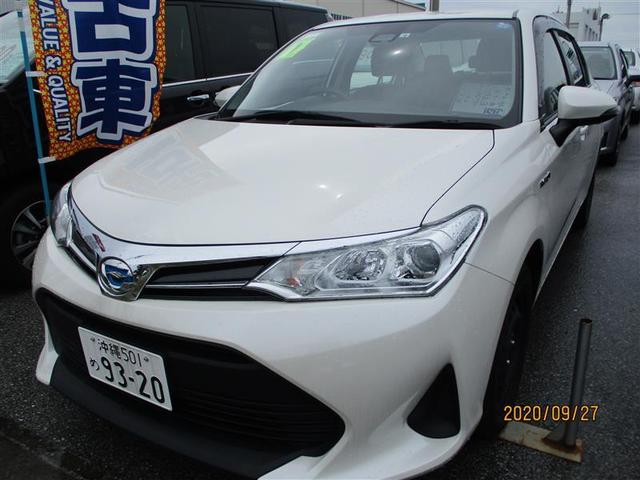 沖縄の中古車 トヨタ カローラアクシオ 車両価格 137.5万円 リ済別 2019年 1.0万km パールマイカ