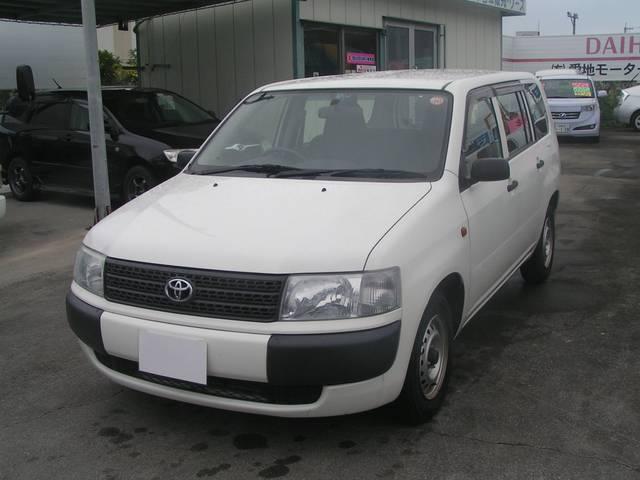 沖縄の中古車 トヨタ プロボックスバン 車両価格 56万円 リ済別 2009(平成21)年 11.0万km ホワイト