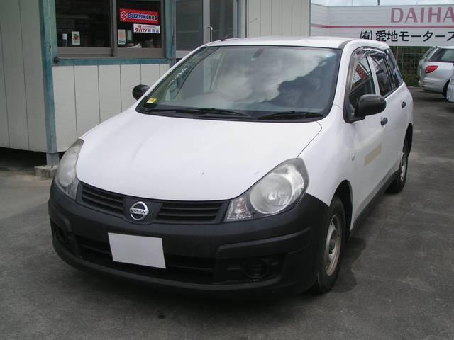 沖縄の中古車 日産 AD 車両価格 39万円 リ済別 2009(平成21)年 10.0万km ホワイト