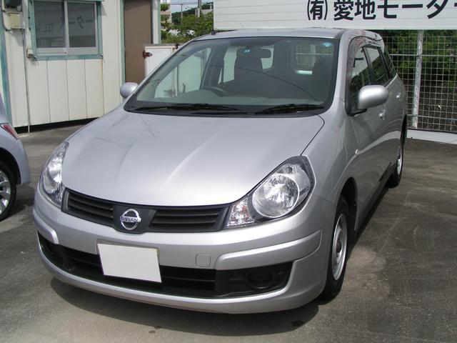沖縄の中古車 日産 ADエキスパート 車両価格 52万円 リ済別 平成22年 9.5万km シルバー