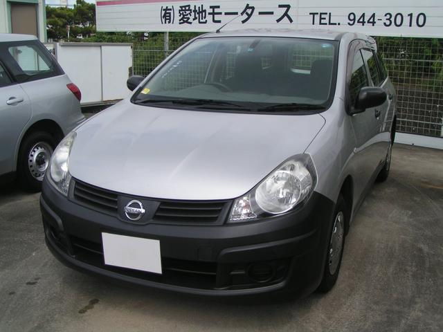 沖縄の中古車 日産 AD 車両価格 46万円 リ済別 平成21年 9.3万km シルバー