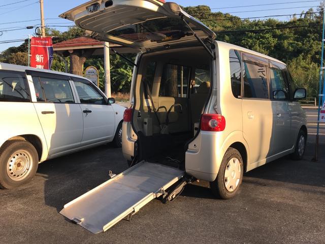 沖縄県の中古車ならタント 福祉車両 スローパー