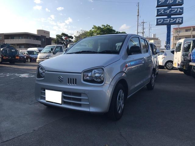 沖縄の中古車 スズキ アルト 車両価格 ASK リ済込 2018(平成30)年 1.0万km シルバー