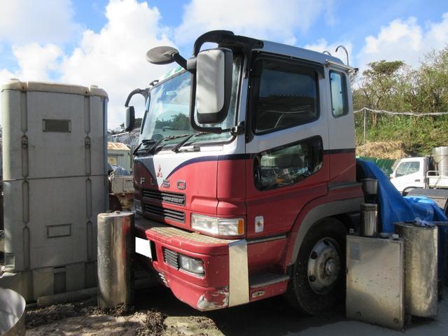 沖縄の中古車 三菱ふそう スーパーグレート 車両価格 ASK リ済込 2002(平成14)年 走不明 レッドII
