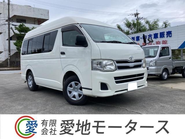 沖縄の中古車 トヨタ ハイエースバン 車両価格 227.8万円 リ済込 2011(平成23)年 7.8万km ホワイト