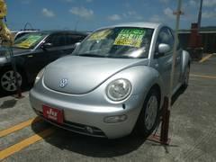 沖縄の中古車 フォルクスワーゲン VW ニュービートル 車両価格 39万円 リ済別 2003年 4.4万K シルバー