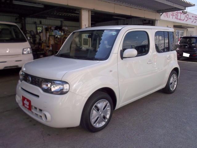 沖縄の中古車 日産 キューブ 車両価格 32万円 リ済込 2012(平成24)年 7.4万km パール