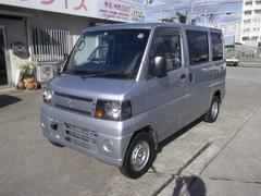 沖縄の中古車 三菱 ミニキャブバン 車両価格 46万円 リ済込 平成23年 12.0万K シルバー