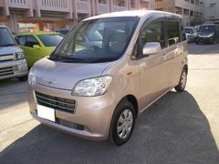沖縄の中古車 ダイハツ タントエグゼ 車両価格 55万円 リ済込 平成22年 7.5万K ピンク
