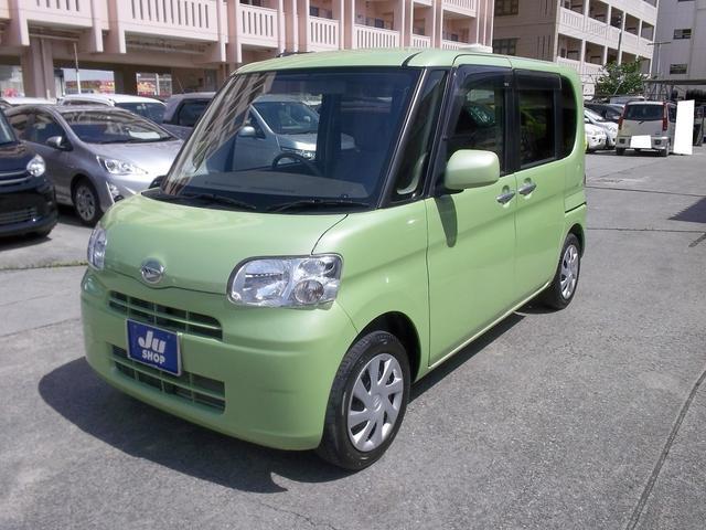 沖縄の中古車 ダイハツ タント 車両価格 65万円 リ済込 2013(平成25)年 3.6万km Lグリーン