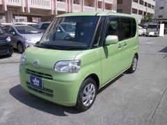 沖縄の中古車 ダイハツ タント 車両価格 64万円 リ済込 平成25年 3.6万K Lグリーン