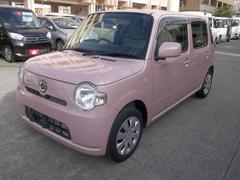 沖縄の中古車 ダイハツ ミラココア 車両価格 69万円 リ済込 平成26年 3.9万K ピンク