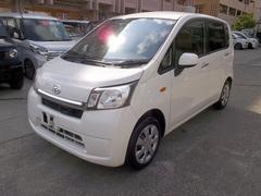 沖縄の中古車 ダイハツ ムーヴ 車両価格 49万円 リ済込 平成25年 6.3万K ホワイト