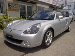 沖縄の中古車 トヨタ MR−S 車両価格 47万円 リ済込 平成17年 9.6万K シルバー