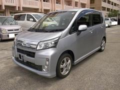 沖縄の中古車 ダイハツ ムーヴ 車両価格 50万円 リ済込 平成25年 12.3万K シルバー