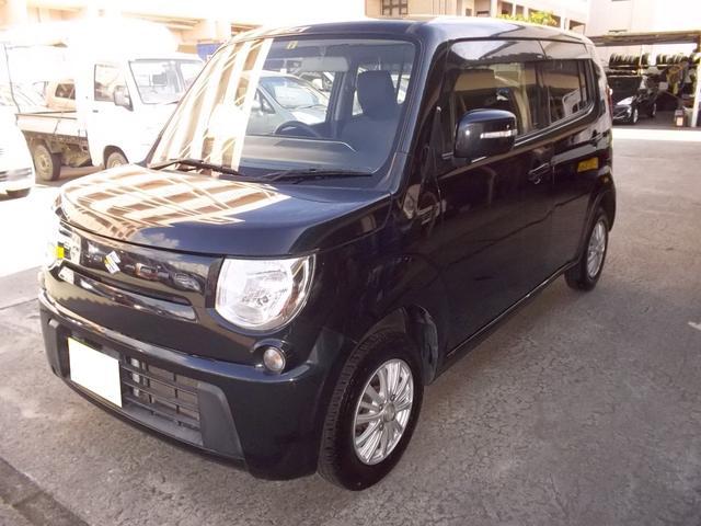 沖縄の中古車 スズキ MRワゴン 車両価格 49万円 リ済込 平成25年 8.3万km ブラック