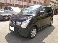 沖縄の中古車 スズキ ワゴンR 車両価格 59万円 リ済込 平成26年 7.3万K ブラック