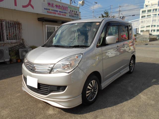 沖縄の中古車 三菱 デリカD:2 車両価格 56万円 リ済込 平成24年 2.4万km シルバー