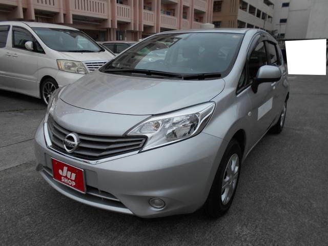 沖縄の中古車 日産 ノート 車両価格 56万円 リ済込 平成25年 2.5万km シルバー