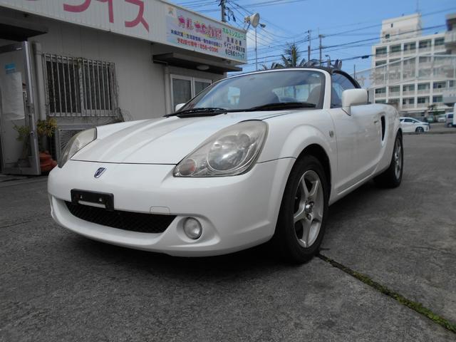 沖縄の中古車 トヨタ MR-S 車両価格 41万円 リ済込 2003(平成15)年 8.9万km ホワイト