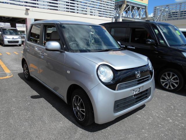 沖縄の中古車 ホンダ N-ONE 車両価格 64万円 リ済込 2014(平成26)年 5.4万km シルバー