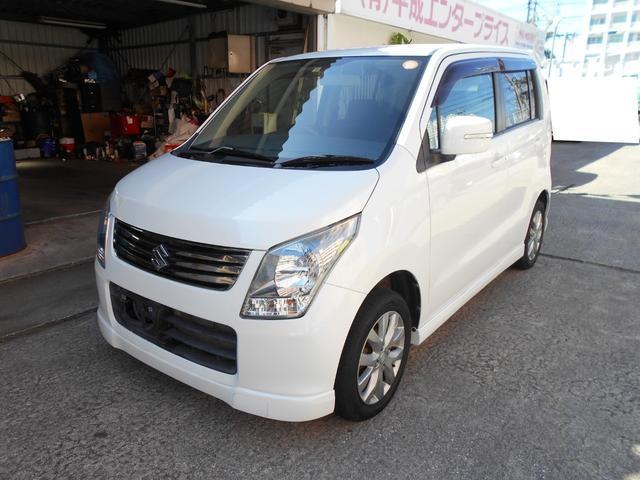 沖縄の中古車 スズキ ワゴンR 車両価格 45万円 リ済込 2012(平成24)年 5.5万km ホワイト