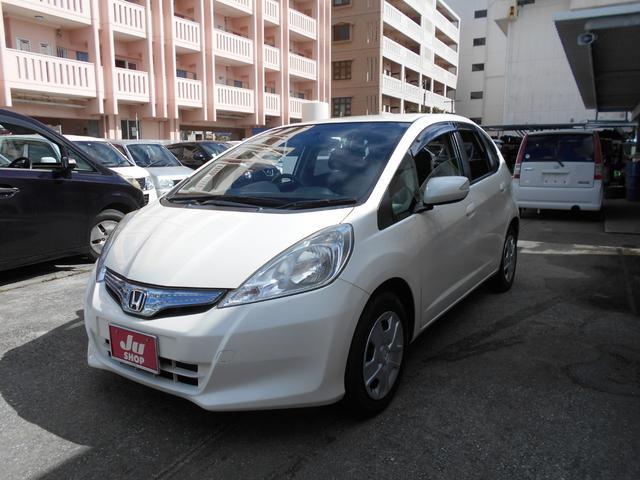 沖縄の中古車 ホンダ フィットハイブリッド 車両価格 53万円 リ済込 2012(平成24)年 5.5万km パール