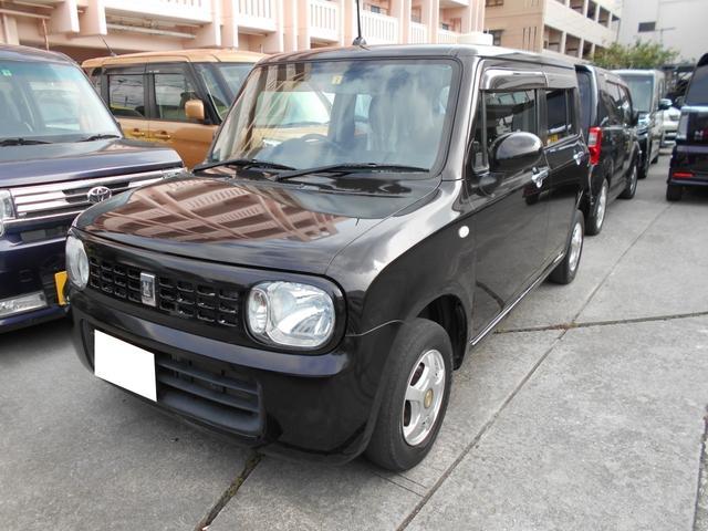 沖縄の中古車 スズキ アルトラパン 車両価格 56万円 リ済込 2015(平成27)年 5.0万km ブラウン