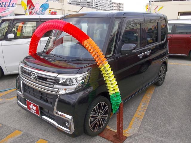 沖縄県の中古車ならタント カスタムRS トップエディションリミテッドSAIII