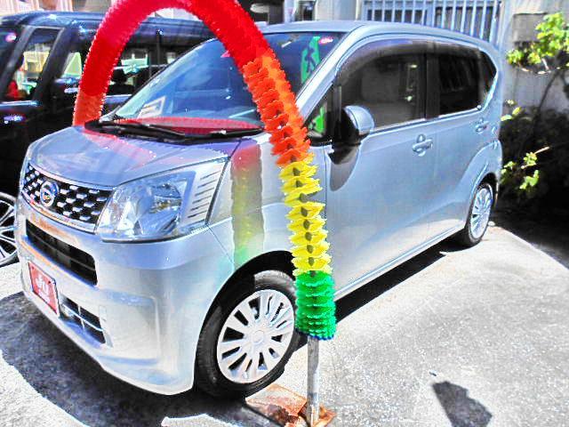 沖縄の中古車 ダイハツ ムーヴ 車両価格 52万円 リ済込 2015(平成27)年 7.0万km シルバー