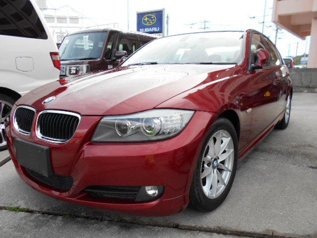 沖縄の中古車 BMW 3シリーズ 車両価格 64万円 リ済込 2010(平成22)年 3.1万km レッド