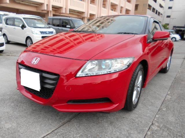 沖縄の中古車 ホンダ CR-Z 車両価格 54万円 リ済込 2010(平成22)年 9.0万km レッド