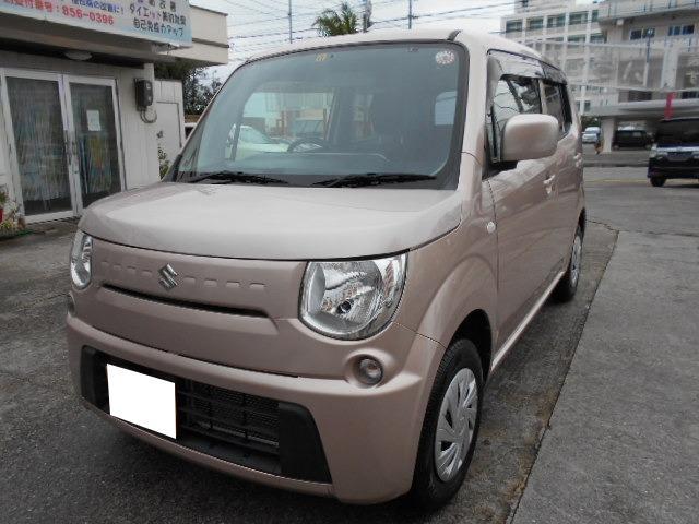 沖縄の中古車 スズキ MRワゴン 車両価格 52万円 リ済込 2014(平成26)年 5.2万km ピンク