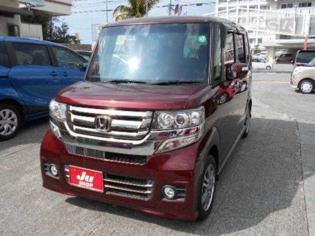 沖縄県豊見城市の中古車ならN-BOXカスタム G・Lパッケージ