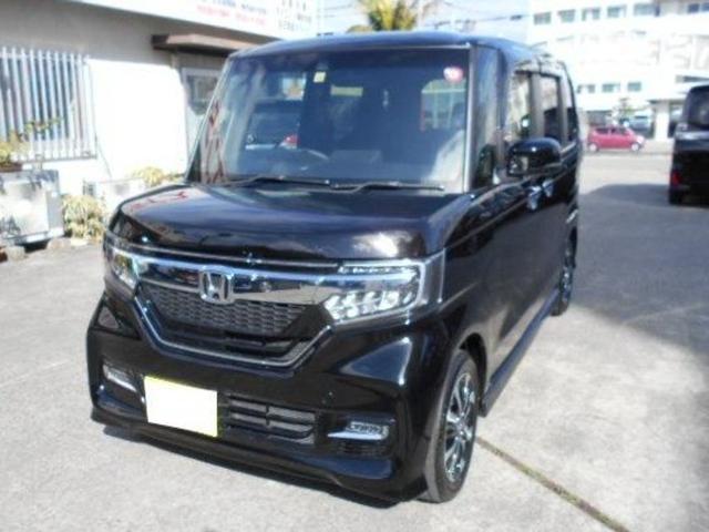 沖縄県豊見城市の中古車ならN-BOXカスタム G・Lホンダセンシング
