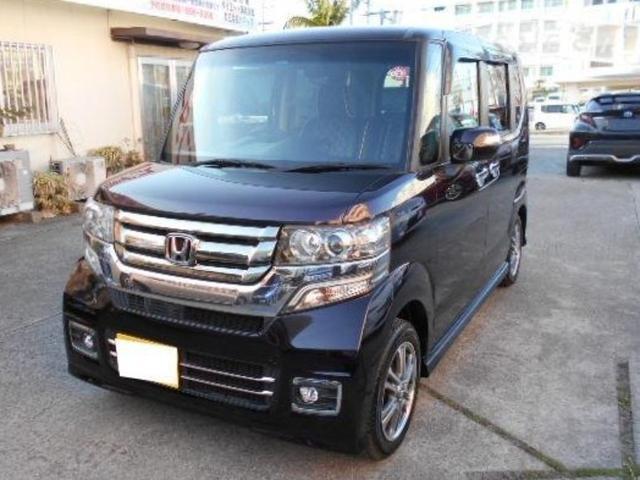沖縄県の中古車ならN-BOXカスタム  Gスペシャルエディション SSパッケージ