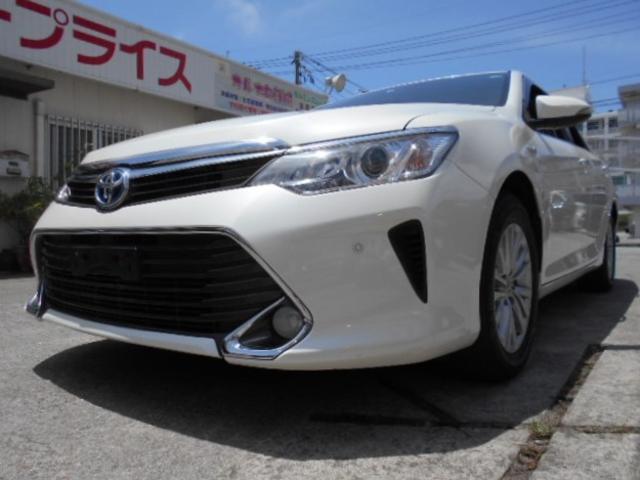 沖縄県豊見城市の中古車ならカムリ ハイブリッド Gパッケージ