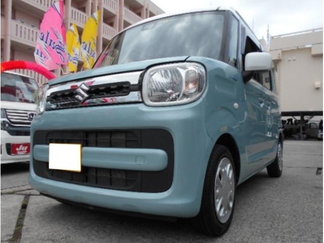 沖縄県豊見城市の中古車ならスペーシア ハイブリッドX 2トーンルーフPKG