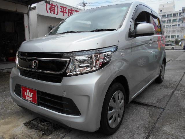 沖縄の中古車 ホンダ N-WGN 車両価格 55万円 リ済込 2014(平成26)年 3.5万km シルバー