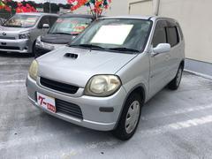 沖縄の中古車 スズキ Kei 車両価格 5.5万円 リ済込 平成13年 11.7万K シルキーシルバーメタリック