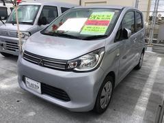 沖縄の中古車 三菱 eKワゴン 車両価格 59.8万円 リ済込 平成26年 6.3万K クールシルバーメタリック