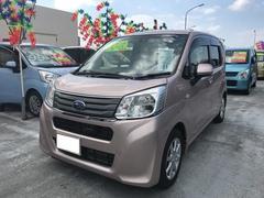 沖縄の中古車 スバル ステラ 車両価格 89.8万円 リ済込 平成27年 1.2万K ピンクM