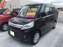 沖縄の中古車 スズキ スペーシアカスタム 車両価格 98万円 リ済込 平成26年 5.3万K パープル