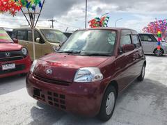 沖縄の中古車 ダイハツ エッセ 車両価格 36万円 リ済込 平成22年 8.6万K レッド