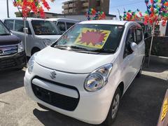 沖縄の中古車 スズキ アルト 車両価格 29万円 リ済込 平成25年 8.7万K ホワイト