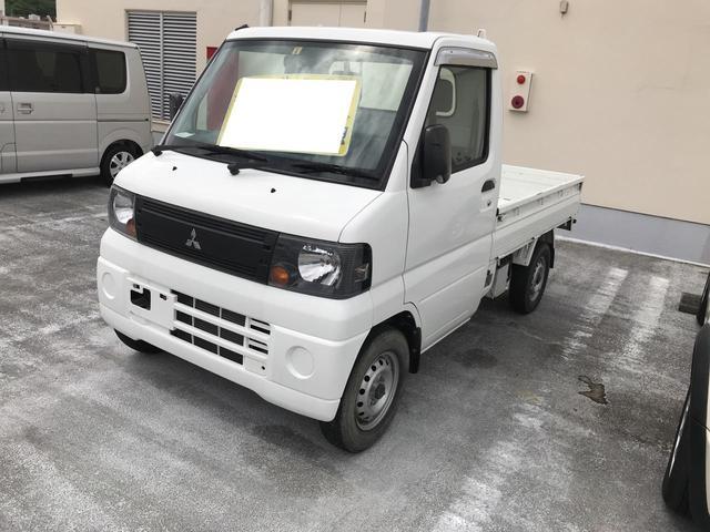 沖縄の中古車 三菱 ミニキャブトラック 車両価格 49万円 リ済別 平成23年 6.5万km ホワイト
