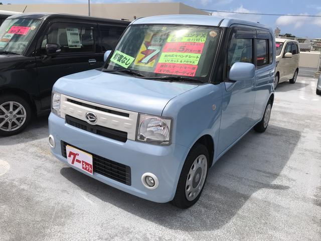 沖縄の中古車 ダイハツ ムーヴコンテ 車両価格 79万円 リ済別 平成26年 5.8万km ライトブルーM
