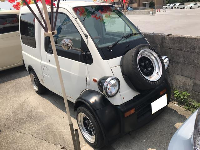 沖縄の中古車 ダイハツ ミゼットII 車両価格 35.9万円 リ済別 平成9年 11.6万km ホワイト